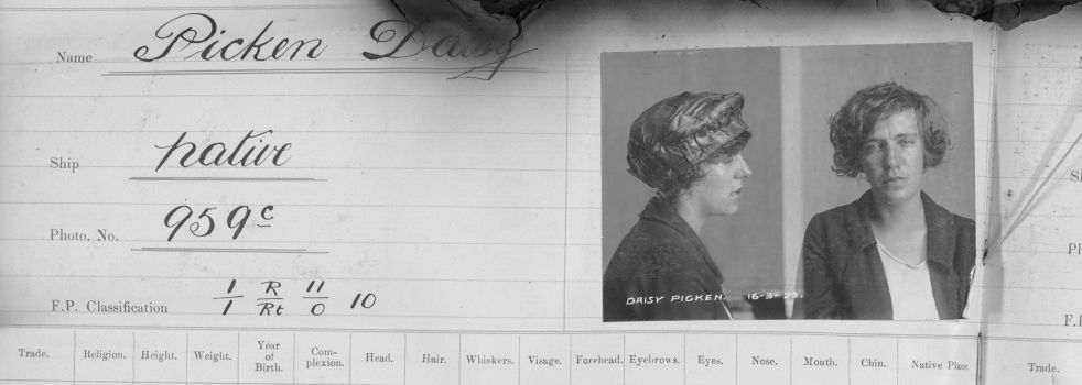 Daisy Picken in the weeds: Prisoner records in the Tasmanian Names Index