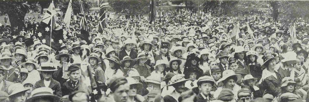 """Wild Delight of the People"": Tasmania rejoices as peace declared, 11 November 1918"